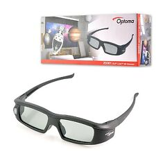Original DLP-Link Rechargeable Active 3D Glasses ZD301 for Optoma Projector
