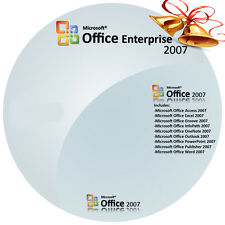 Microsoft Office Enterprise 2007 Software + Lisence ESD Retail Key (up 3 Pc's)