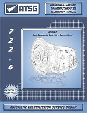 ATSG Mercedes 722.6 Automatic Transmission Rebuild Overhaul Service Shop Manual