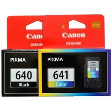 2 x Genuine Canon PG-640 CL-641 Ink Cartridges PG640 + CL641 MG3560 MX396 MX526