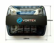 Vortex v108 Car Amp Amplifier All In One Power & Earth Combo Distribution Block
