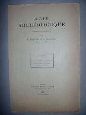 Archéologie: Revue archéologique: Couissin: Casque Romain Caverna delle Mosche