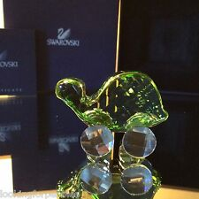 SWAROVSKI Crystal Little Companion THEO the TORTOISE BNIB/COA! #680848 Retired