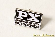 "VESPA Pin / Anstecker ""PX - Better than your Scooter"" - Lusso Piaggio Retro"
