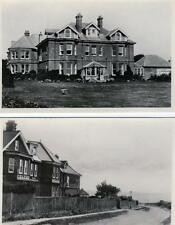 2 Celtic Hotel Southbourne Nr Bournemouth unused sepia RP old postcards