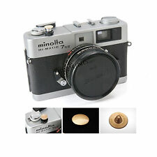 Digital Camera Soft Shutter Button With Screw Gold Convex For Leica Canon