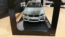 BMW M5 F10 1:18 scale Silver Model Miniature Car OEM