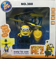 Despicable ME Flying Minion Infrared RC Remote Control Helicopter Flying Toy