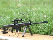 1:6 Scale Metal Model Dismountable Barrett M82A1 Sniper Rifle Gun Military Toys