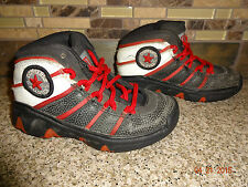 Toddler/Child Boys Sz 10 Black/Red Converse All Star Hi-Tops Athletic Shoes