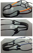 Sunglasses Eyeglasses Rubber Silicone Strap Glasses Sports Band Cord Holder