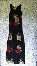 Contempo Casuals Full Length Sleeveless Dress Size 2 / 3 VGUC Long Ankle NICE