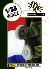 1/35 Scale Resin kit - Wheels Set For VAB 4x4 (XML type) Resin upgrade set