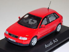 1/43 Minichamps Street Audi A3 in Red Dealer Edition