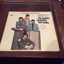 "The Beatles "" Yesterday and Today "" LP ST 2553 Capitol Records"