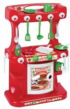 Kitchen Pretend Play Cooking Toy Faro Ristorante Italiano Chef Ages 3 Boys Girls