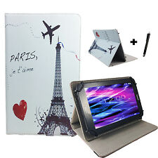 7 zoll Motiv Tablet Tasche Hülle Case Etui - blackberry playbook - Paris 7