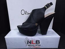 Pre-Owned Olsenboye OGAMBLE Women's Size 9 Black