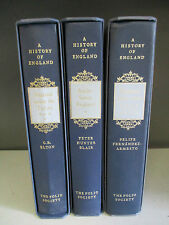 'A History Of England' (Folio Society) - 3 Books Collection! (ID:34981)
