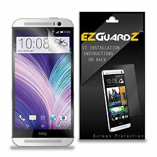 5X EZguardz LCD Screen Protector Guard Shield HD 5X For HTC ONE M8 (Ultra Clear)