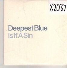 (CN194) Deepest Blue, Is It A Sin - DJ CD