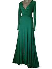LONG FULL LENGTH MAXI EVENING COCKTAIL PARTY BALL DRESS SIZES 8 - 26