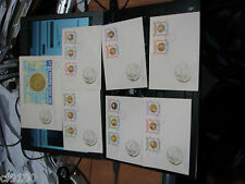Romania 1964 Tokyo Summer Olympics FDC Perf & Imperf