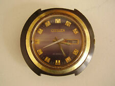 """CITIZEN vintage watch from 1973 """"Blackie"""" !"""