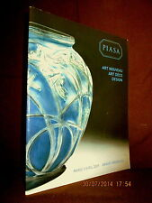 Catalogue Drouot ART NOUVEAU ART DECO DESIGN Verrerie Art Meuble !