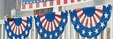 Red, White & Blue Bunting Decorate your your porch, house or fence