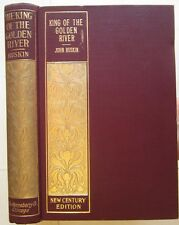 Ruskin King of Golden River GORGEOUS GILT BINDING fairy tale fable 1890 old book
