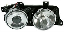 right headlight elec. LWR for BMW 5 Series E34 7 Series E32 HALOGEN lens