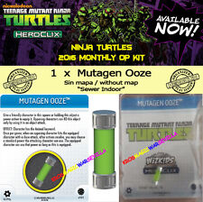 HEROCLIX TEENAGE MUTANT NINJA TURTLES OP KIT - MUTAGEN OOZE (Sin/without mapa)