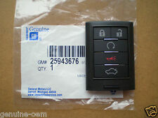 2008-2013 Cadillac STS CTS Keyless Remote Key Entry Fob Transmitter GM#25943676