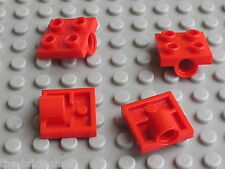 LEGO red Plate 2 x 2 with Hole ref 2444 / Set 10024 7665 6089 8457 8854 7991 ...