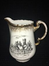 "First Methodist Church Emporia Kansas KS Creamer Pitcher 4 1/2"" Made In Germany"