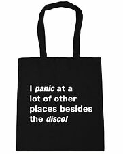 i panic at alot of places besides the disco Tote Shopping Gym Beach Bag 42cm x38