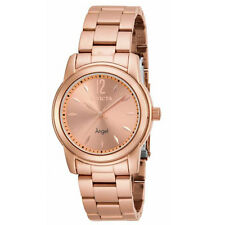 Invicta 17421 Women's Angel Rose Gold Plated Steel Bracelet Watch