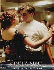 TITANIC 3D - Lobby Cards Set - Kate Winslet, Leonardo DiCaprio, James Cameron