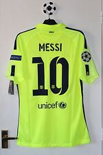 Barcelona 2014 Messi Player Issue Shirt Jersey Camiseta Argentina Not Match Worn