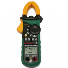 MS2108S T-RMS DC clamp meter nrush compared w/ FLUKE CURRENT DIGITAL METER