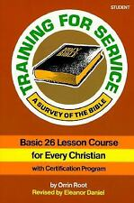 Training for Service Student Book: A Survey of the Bible, Very Good Books