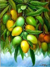 Mango Fruits 18x24 by Bangbang Art Philippines Oil Painting