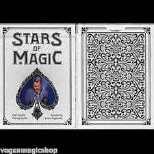 Stars of Magic White Deck Playing Cards Poker Size USPCC Limited Edition Sealed
