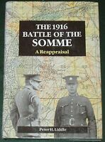 SOMME BATTLE HISTORY First World War 1916 WW1 H/B DJ Soldiers Army Western Front