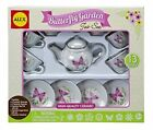 Butterfly Garden Ceramic Tea Set in box 13 pieces 709BR Alex NEW Ages 8+