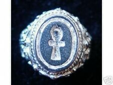 WOW Ankh Egyptian Sterling Silver Ring Egypt Eternal Life