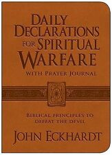Daily Declarations for Spiritual Warfare With Prayer Journal: Biblical Principle