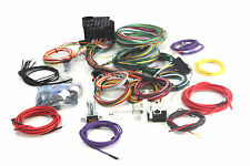 HOT ROD WIRING HARNESS EAZY 22 CIRCUIT COMPLETE A TO Z  H/LIGHT&DIPPER SWITCH