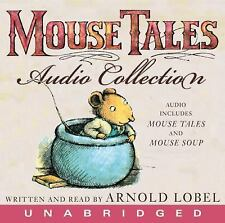 MOUSE TALES AUDIO COLLECTION A. Lobel BRAND NEW FACTORY SEALED! 2 Books on 1 CD